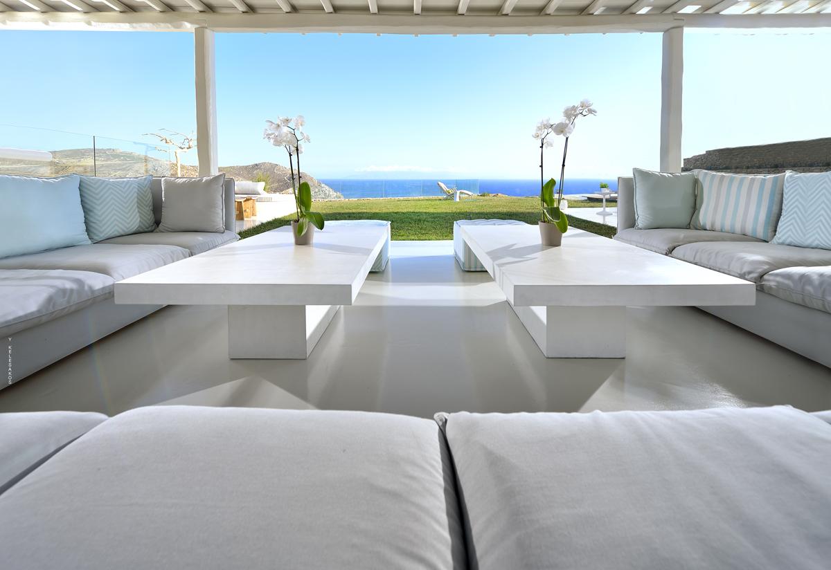 Luxury Mykonos Villa With Contemporary Mediterranean Decor ...