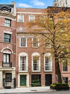 Manhattan Townhouse with Red Brick Façade