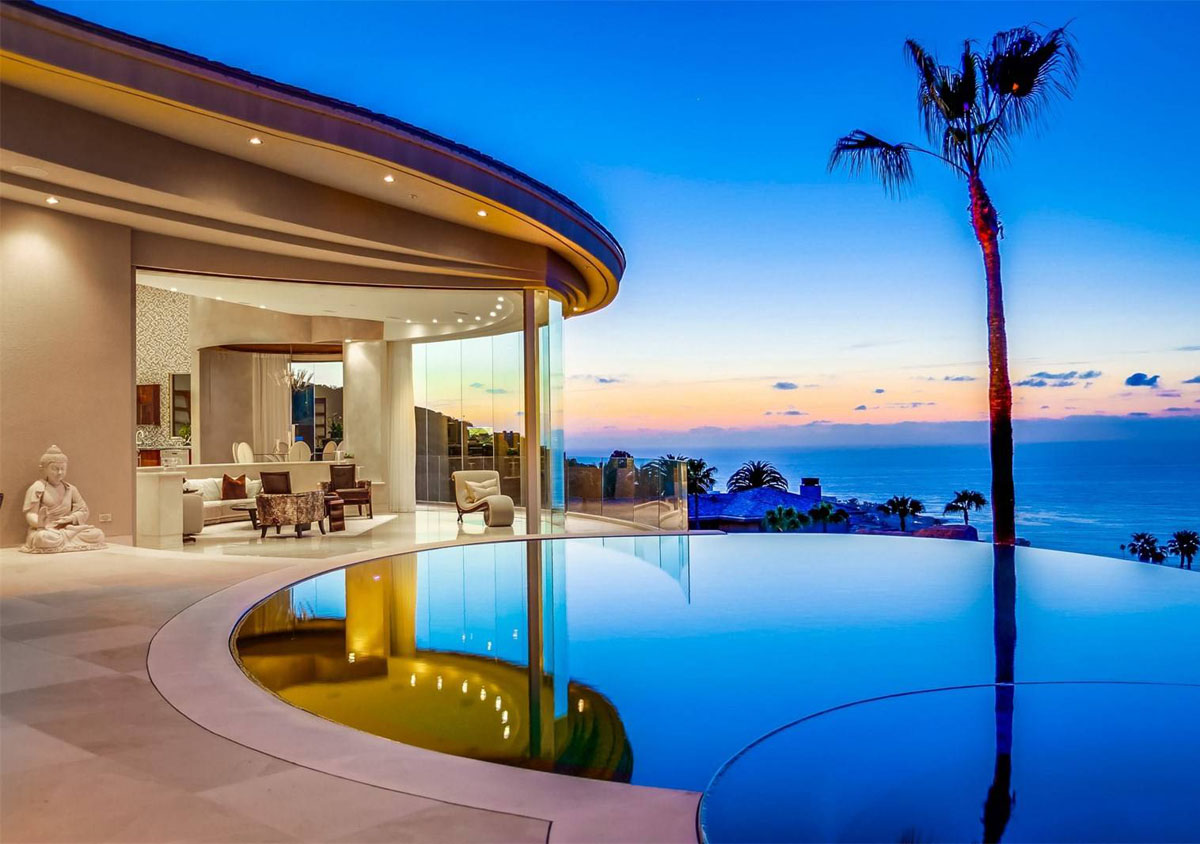 Luxury Ocean View Hilltop Contemporary Mansion La Jolla 1