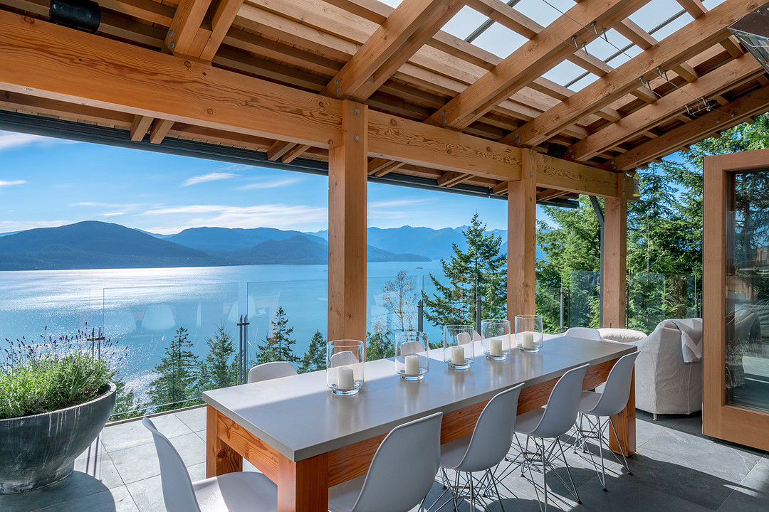 Exquisite Hillside Estate In West Vancouver Connects To