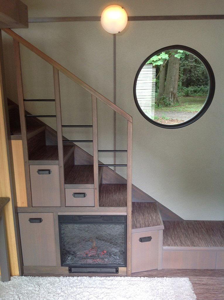Tiny House Stairway