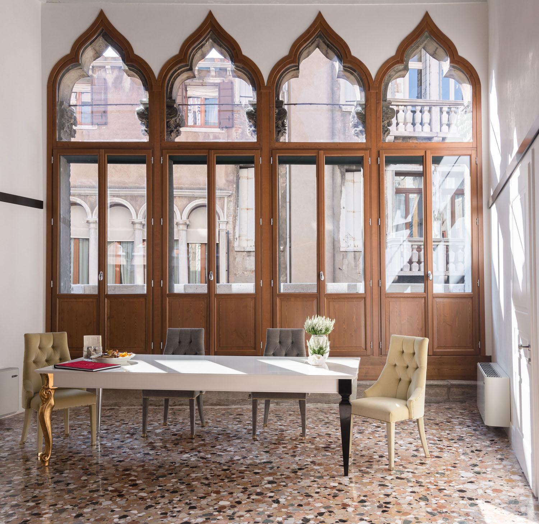 Contemporary Apartment In A Gothic Venice Palazzo Where