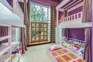 Mountain Chalet Children's Bunk Bedroom