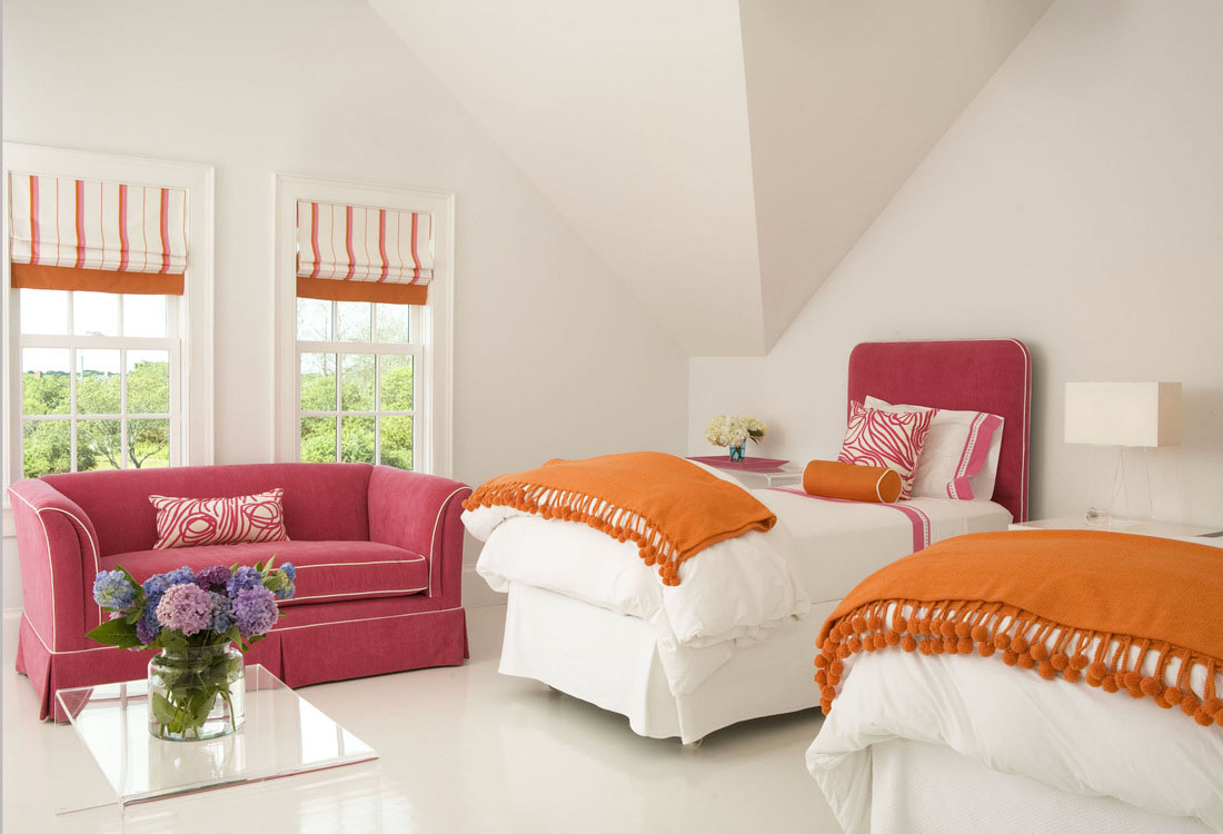 Modern simplicity with dashes of colour idesignarch - What is contemporary design ...
