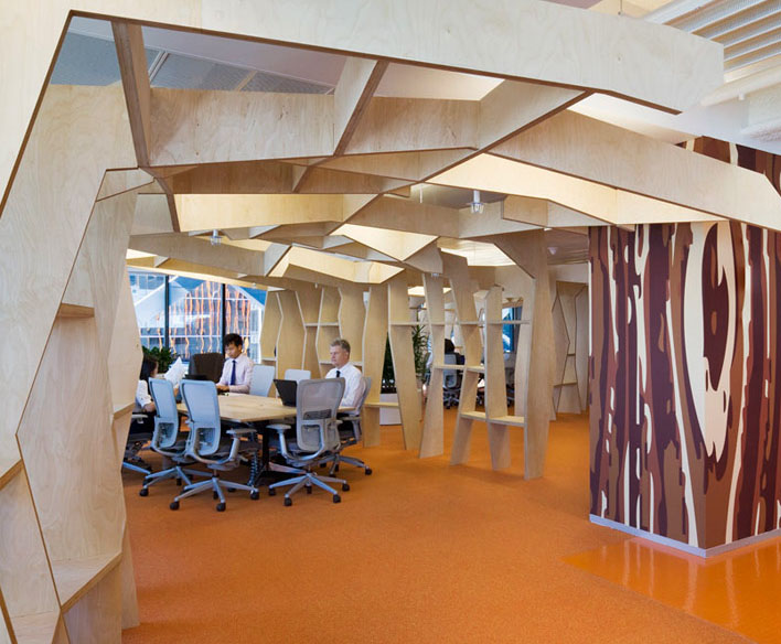 Macquarie Group Revolutionary Workplace Design