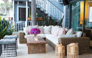Elegant Outdoor Beach Patio