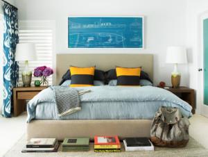 Stylish Nautical Themed Bedroom