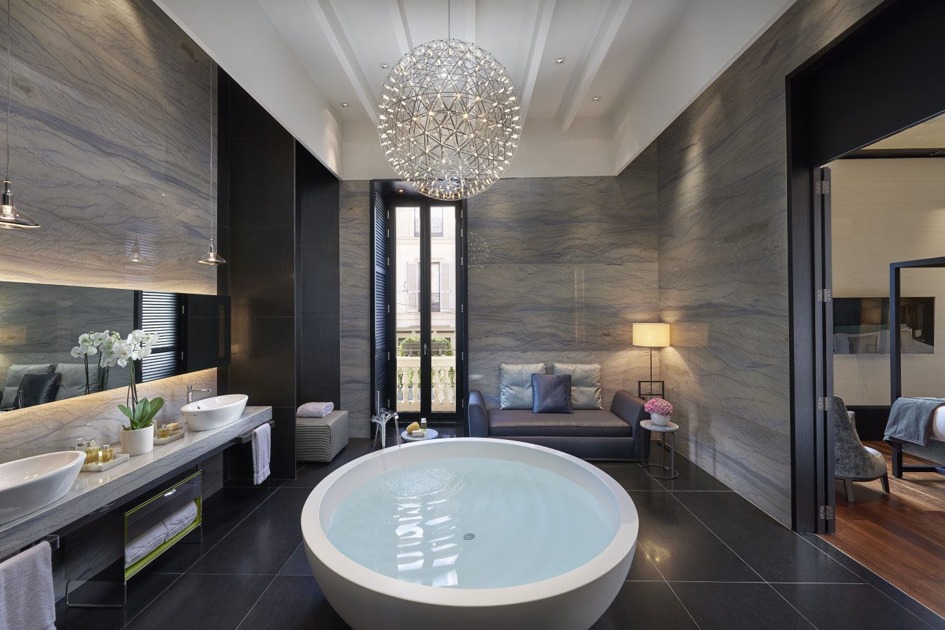 Mandarin oriental milan hotel timeless luxury with chic - Hotel interior and exterior design ...