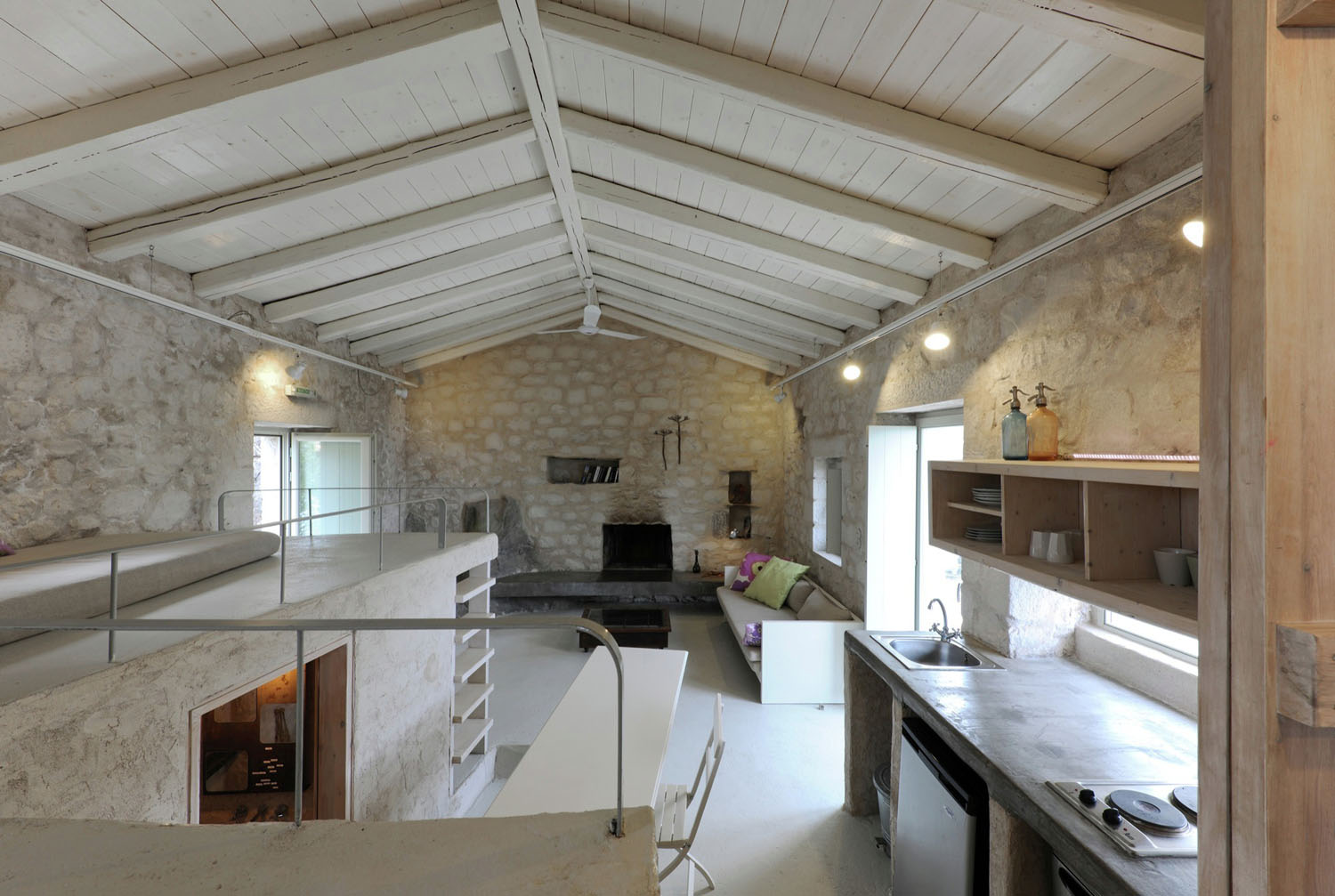 Historical Stone Building In Greece Transformed Into ...