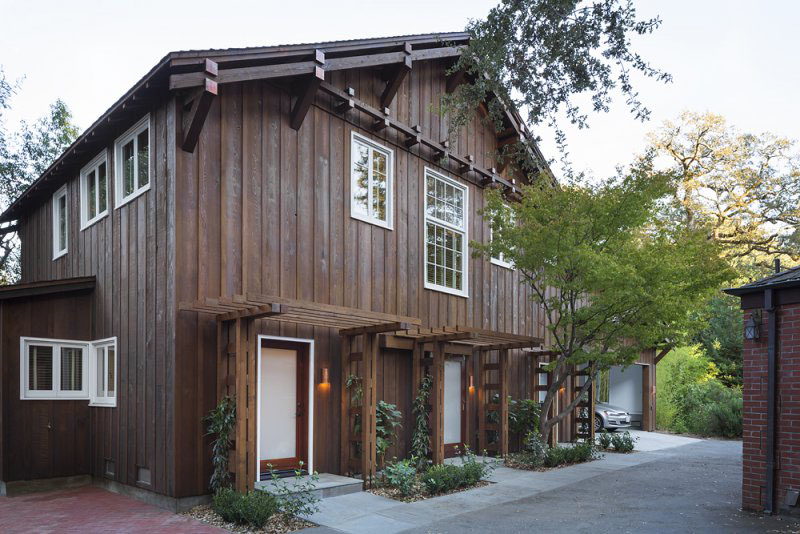 Charming Modern Rustic Barn Loft In Marin County ...