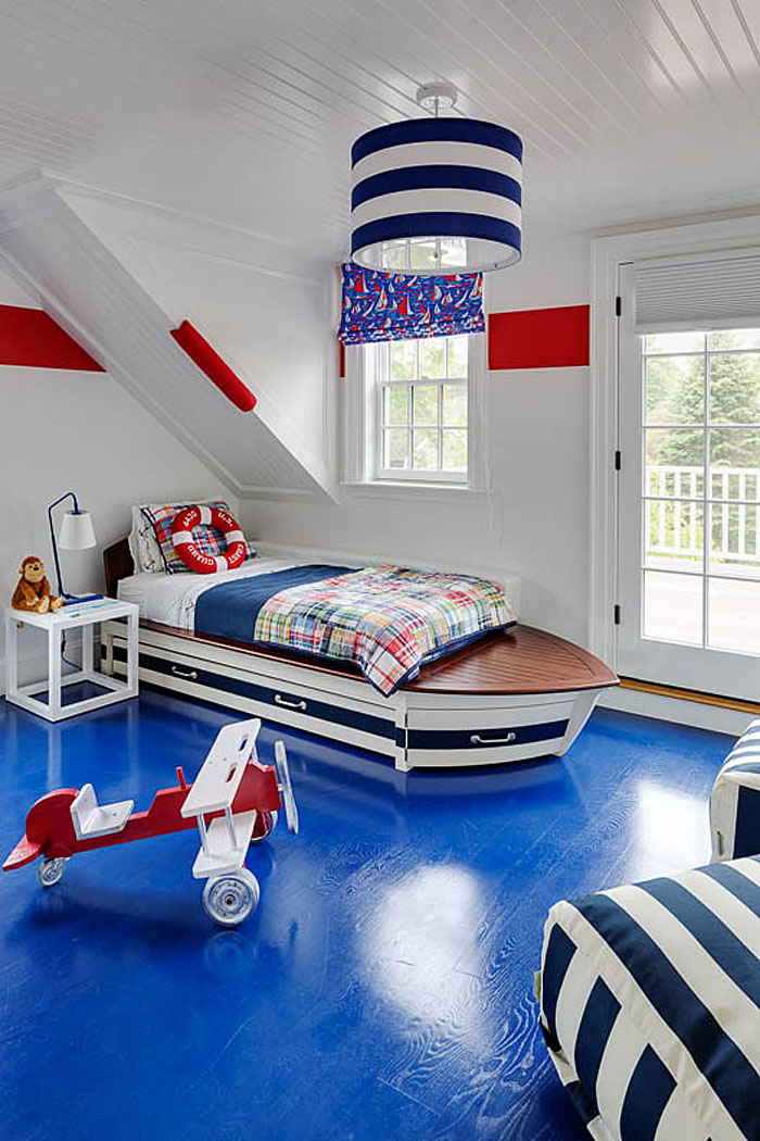 Nautical Style Children's Bedroom