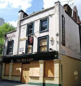 Red Lion Pub Mayfair London