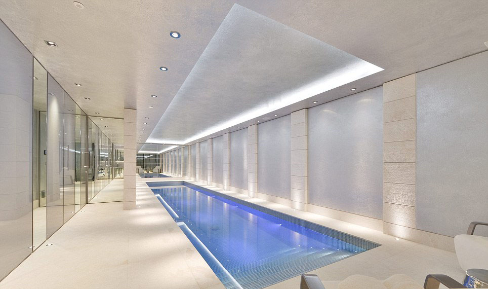 Luxury Home Indoor Swimming Pool