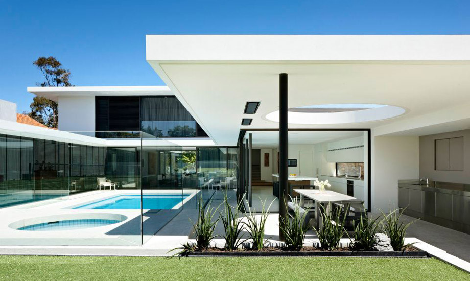 Modernist Mid Century Inspired Family Home With Beautiful