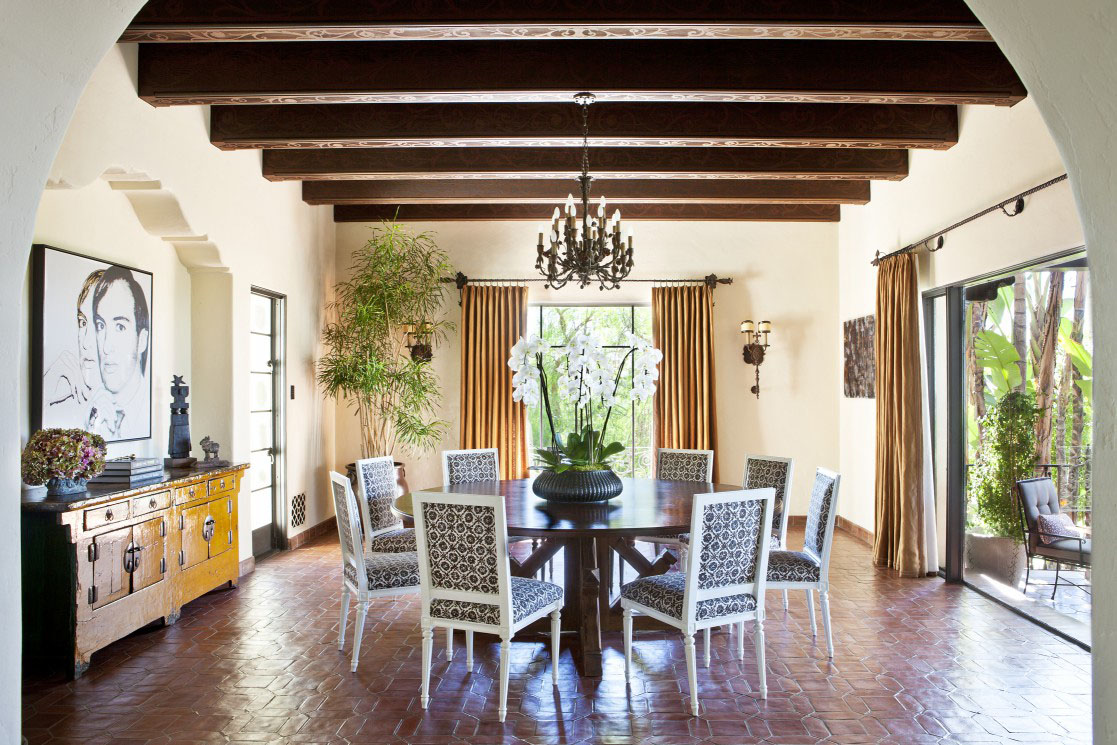 Mediterranean Spanish Style Home Harry Hayden Whiteley Los