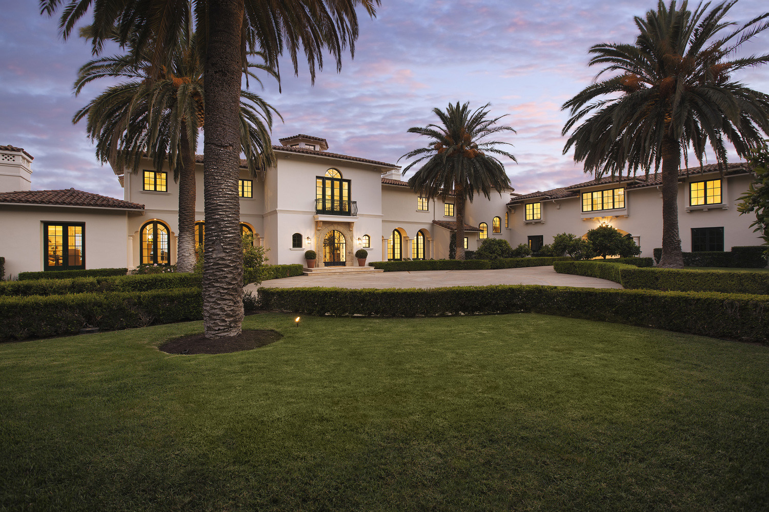 Mediterranean Style Mansion in California