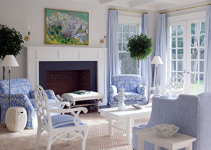 Living Room Design By Meg Braff | iDesignArch | Interior Design ...