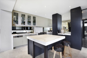 Calacatta Marble Kitchen