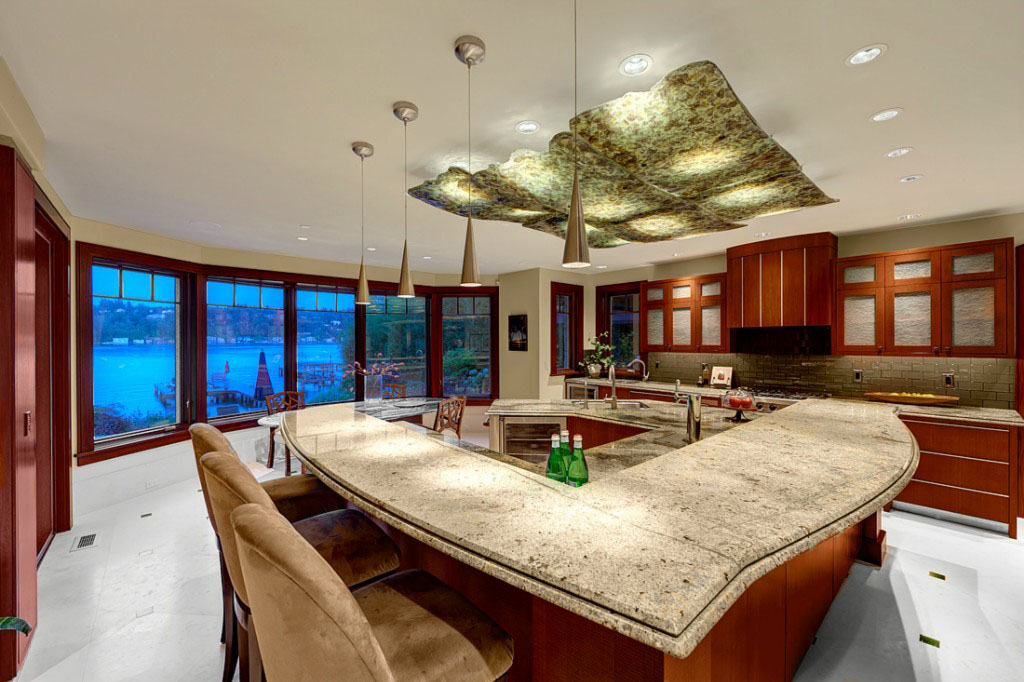 Big Modern Kitchen Island