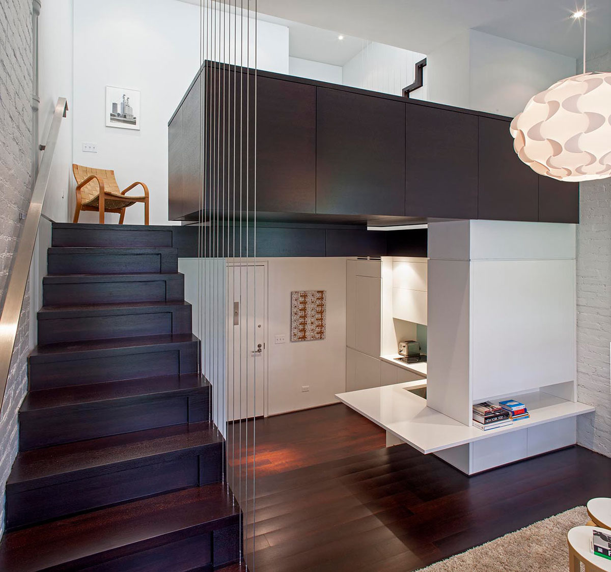 Small Loft Apartment Design