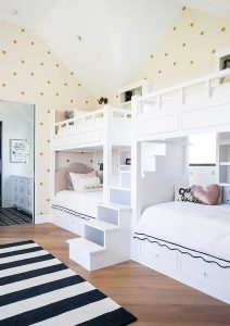 Bunk Beds with Staircase