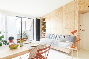 Studio Apartment with Functional Design