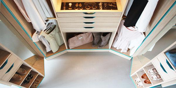 Mini Walk-In Closet | iDesignArch | Interior Design, Architecture & Interior Decorating eMagazine