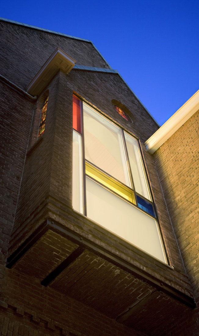 Mondriaan Glass Window