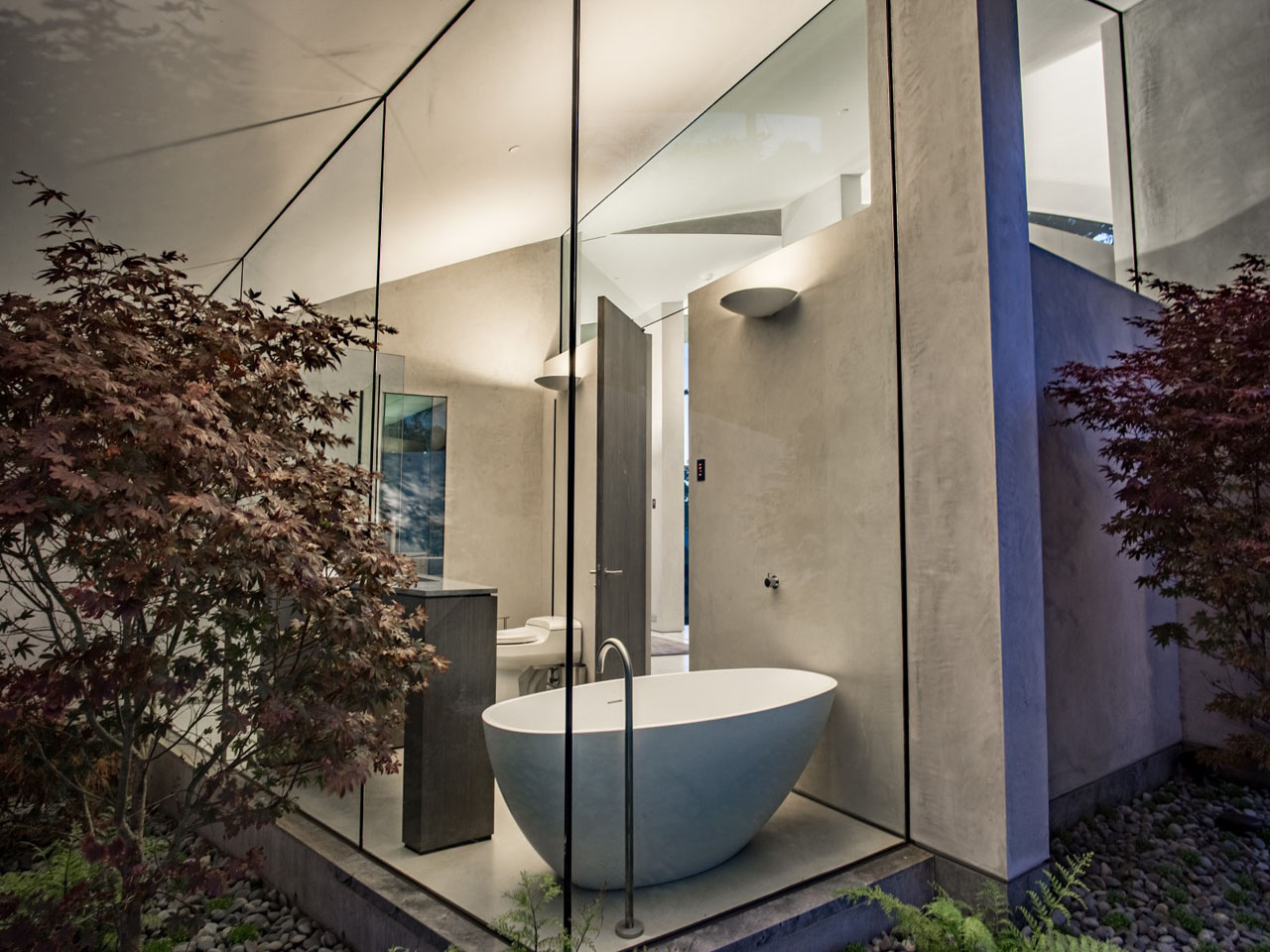 This Butterfly Shaped Concrete Glass Amp Steel House Is A