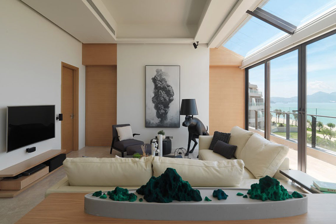 Modern Beach Front Luxury Apartment Huizhou China 5
