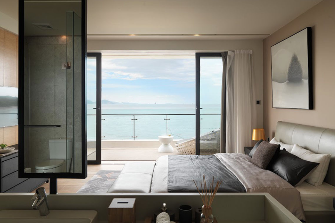 Modern Beach Front Luxury Apartment Huizhou China 8