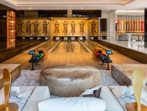 Luxury Home Bowling Gallery