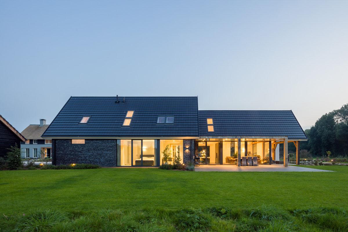 Minimalist Modern Country Villa In A Rural Setting