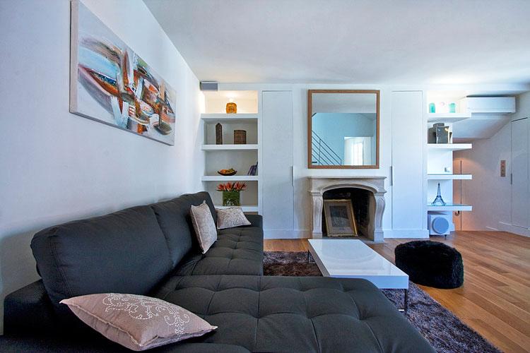 Modern Duplex Apartment Design In Paris Idesignarch Interior Design Architecture Interior Decorating Emagazine