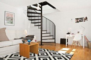 Duple with Spiral Staircase