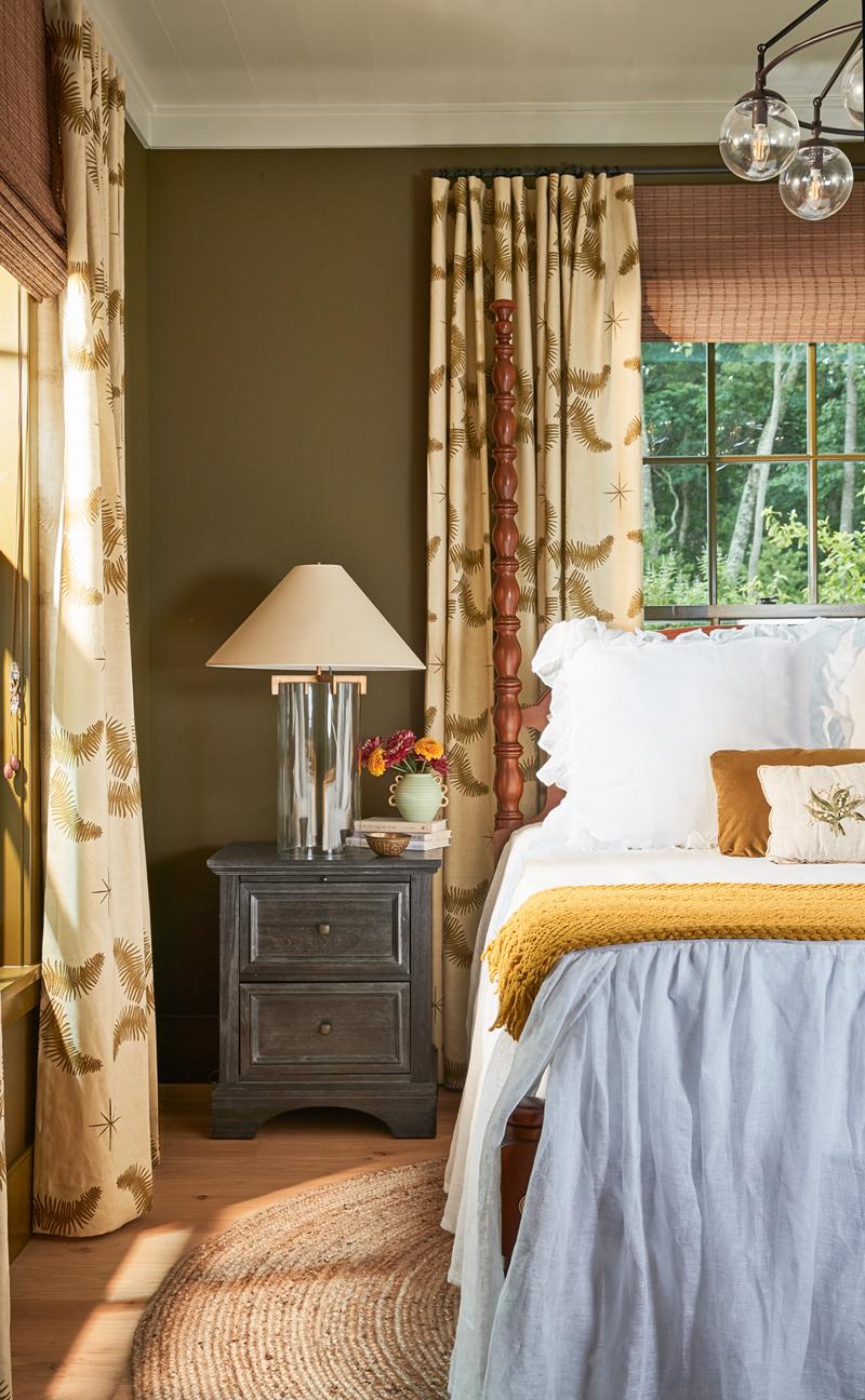 Contemporary Country Home Bedroom Decor
