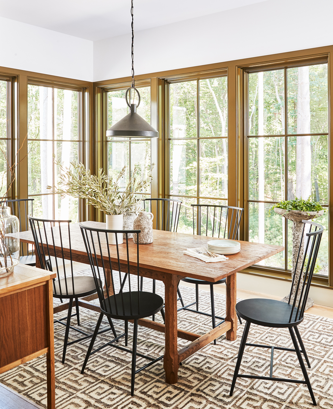 Country Home Dining Room