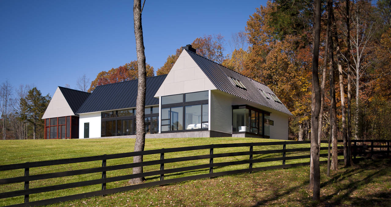 Modern House In Virginia Countryside | iDesignArch ...