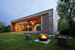 Environmentally Friendly Modern Retreat
