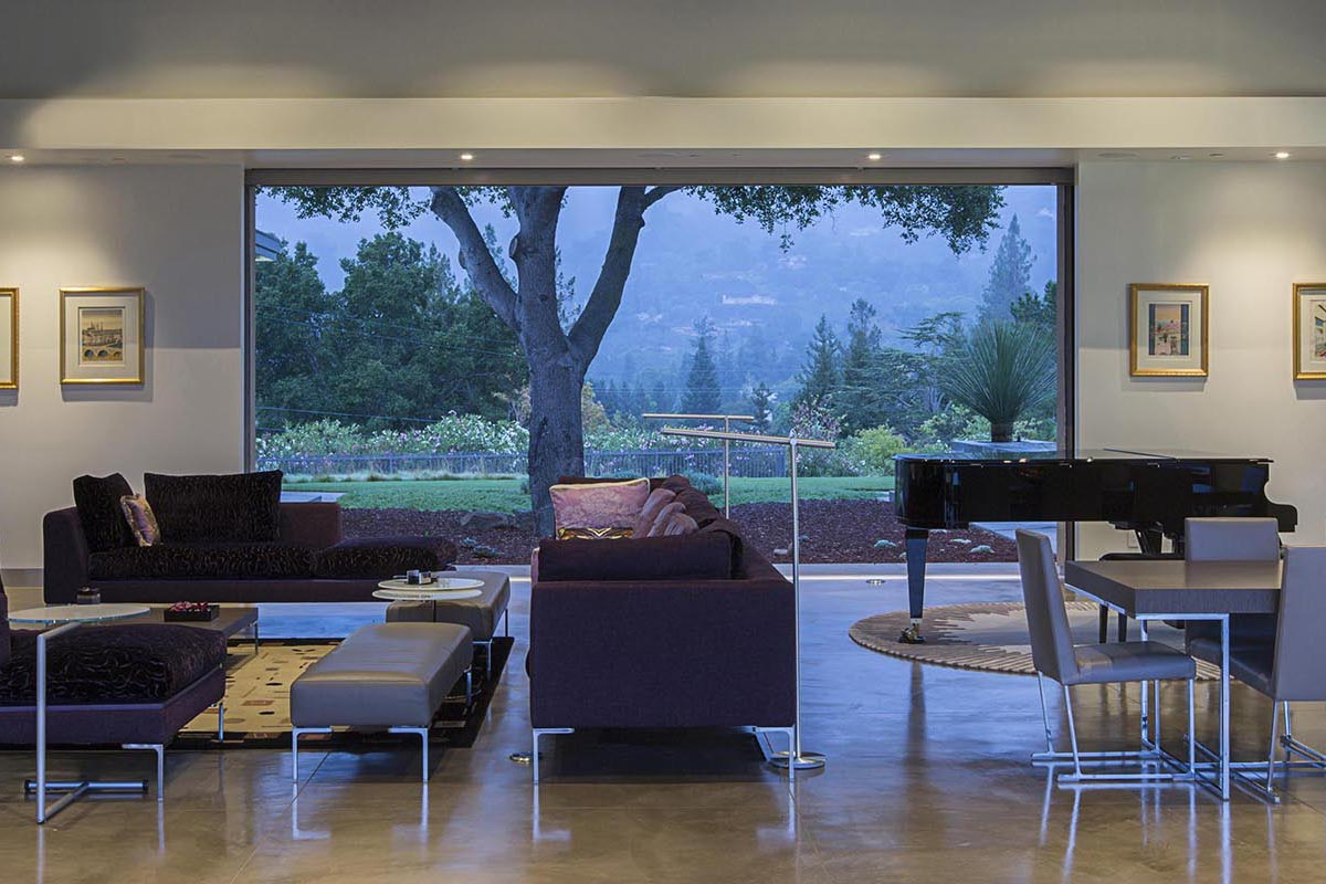 Silicon Valley Modern Sustainable Estate with Magnificent Valley ...