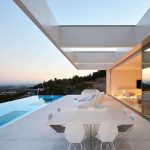 Minimalist Hilltop Quarry House in Valencia with Panoramic Sea View