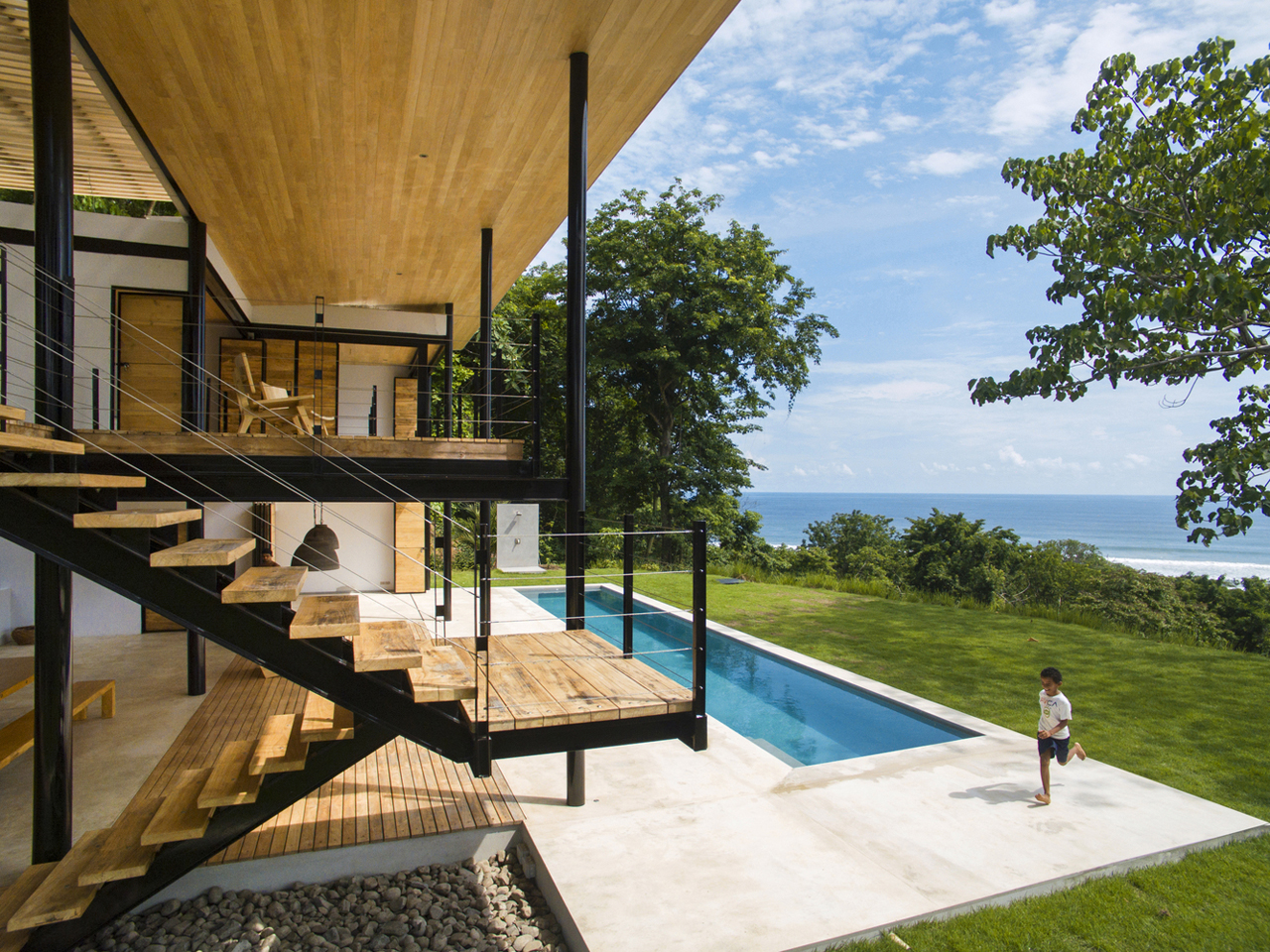 Related Posts Hillside Floating House In Costa Rica