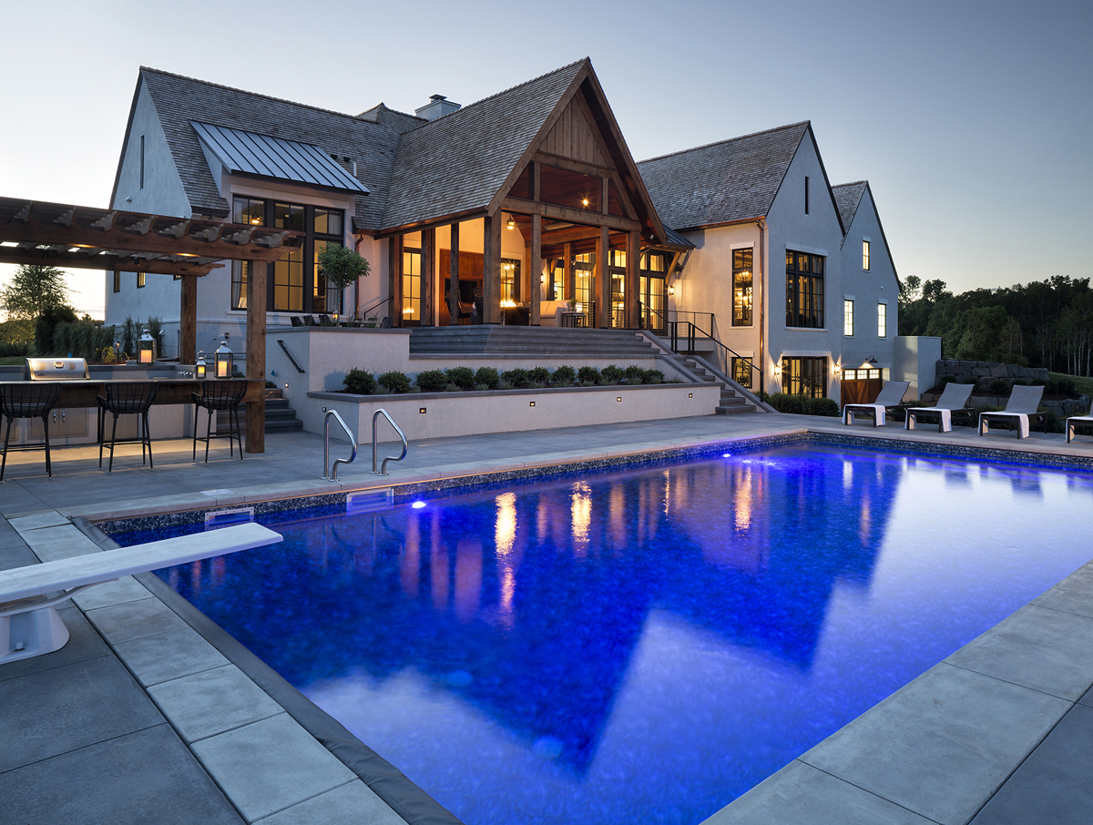 Modern Tudor Architectural Design Luxury Dream House 3