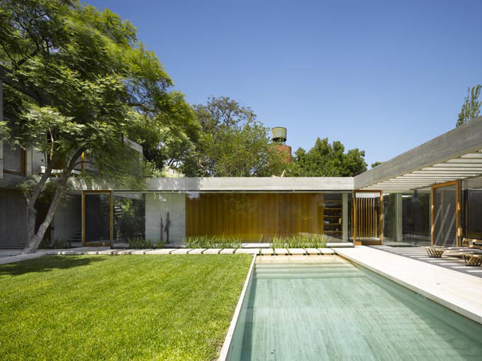 Timeless Modernist House In Buenos Aires Idesignarch