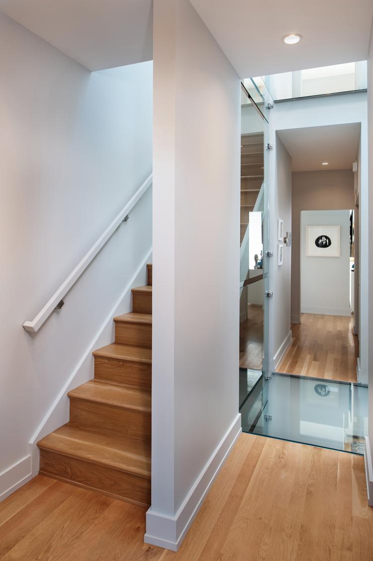 Modernist Urban Row House In Richmond S Historic District Idesignarch Interior Design
