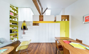 Functional Modern Small Apartment in Montmartre