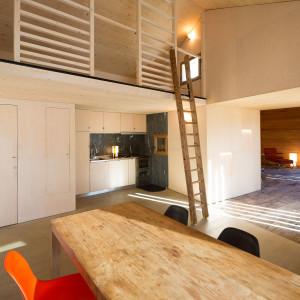 Modern Mountain Villa Interior Kitchen