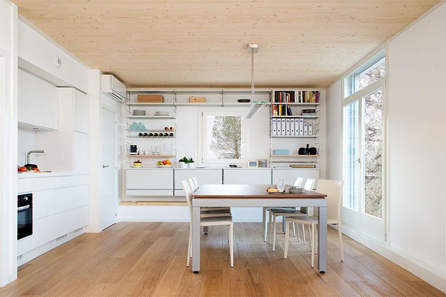 Modern Prefab House Interior