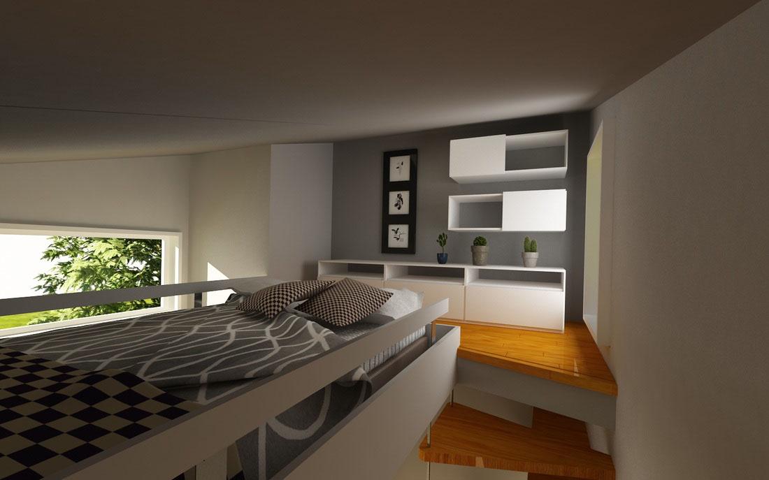Tiny House Bedroom Loft