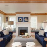 Nantucket Waterfront Home Simplistic Elegant Contemporary Decor